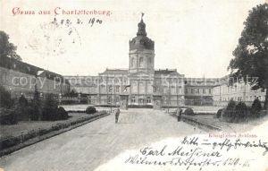 AK / Ansichtskarte Charlottenburg Koenigliches Schloss Deutsche Reichspost Kat. Berlin