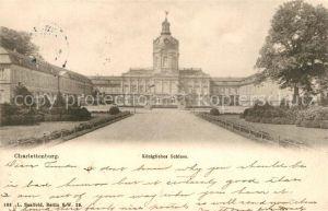 AK / Ansichtskarte Charlottenburg Koenigliches Schloss Kat. Berlin