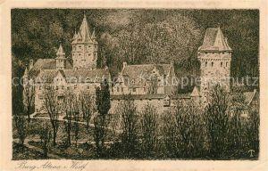 AK / Ansichtskarte Altena Lenne Burg Altena Kat. Altena