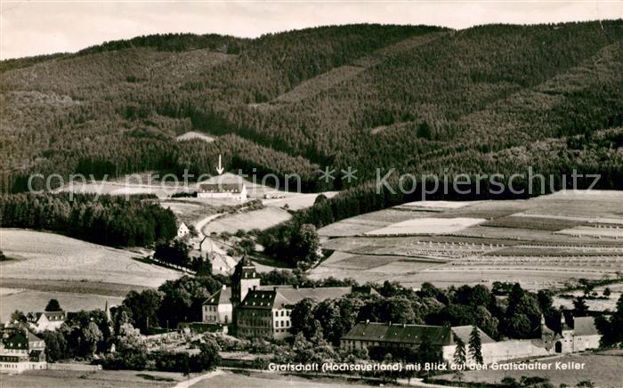 AK / Ansichtskarte Grafschaft Sauerland mit Grafschafter Keller Kat. Schmallenberg
