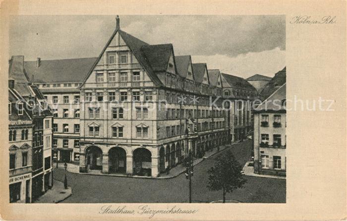 AK / Ansichtskarte Koeln Rhein Stadthaus Guerzenichstrasse Kat. Koeln