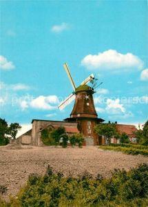 AK / Ansichtskarte Pewsum Ostfriesische Windmuehle Muehlenmuseum Kat. Krummhoern
