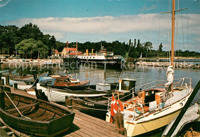 AK / Ansichtskarte Hundested Daenemark Rorvig Havn