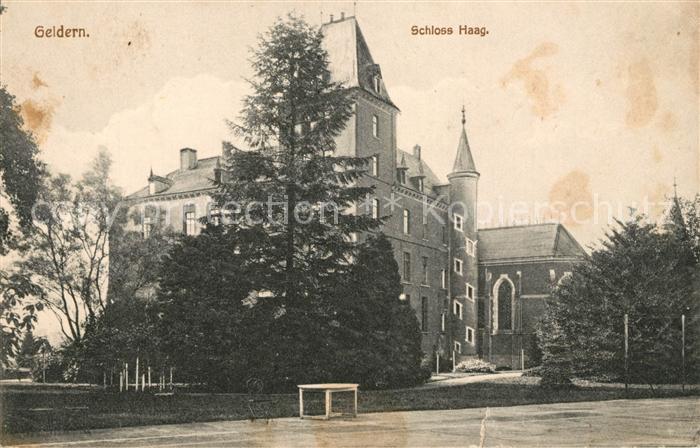 AK / Ansichtskarte Geldern Schloss Haag Kat. Geldern