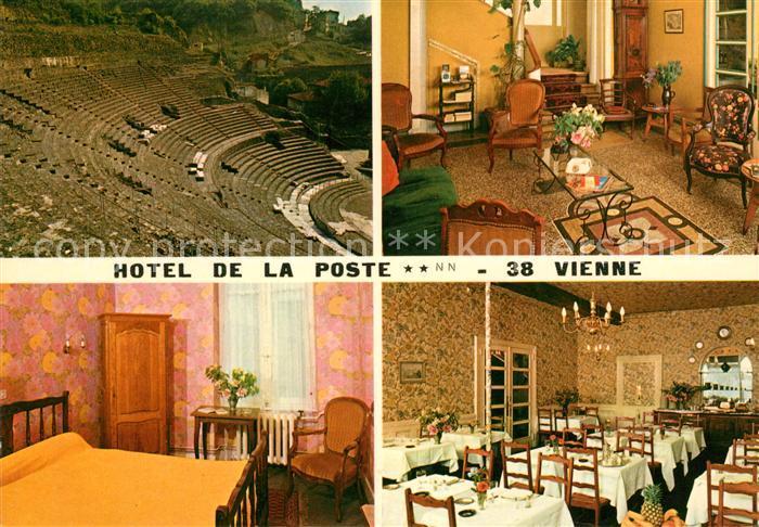 AK / Ansichtskarte Vienne Isere Hotel de la Poste Freilichttheater Kat. Vienne