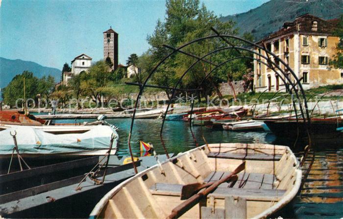 AK / Ansichtskarte Rivapiana Lago Maggiore Il porto dei pescatori Kat. Minusio