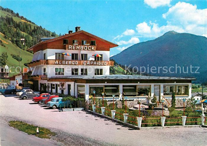 AK / Ansichtskarte San Candido Suedtirol Albergo Capriolo Gasthof zum Rehbock Kat. Innichen Pustertal