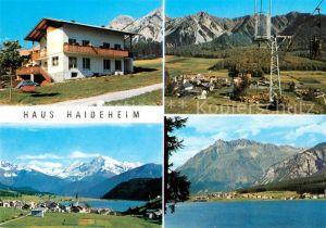 AK / Ansichtskarte St Valentin Haide Vinschgau Pension Garni Haideheim Kat. San Valentino alla Muta Vinschgau
