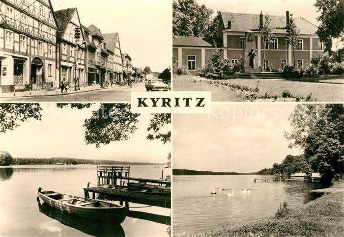 AK / Ansichtskarte Kyritz Brandenburg  Kat. Kyritz