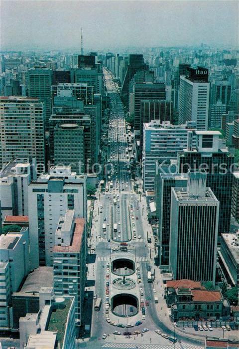 AK / Ansichtskarte Sao Paulo Paulista Avenue Kat. Sao Paulo
