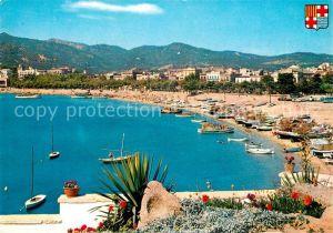 AK / Ansichtskarte San Feliu de Guixols Strand Kat. Baix Emporda