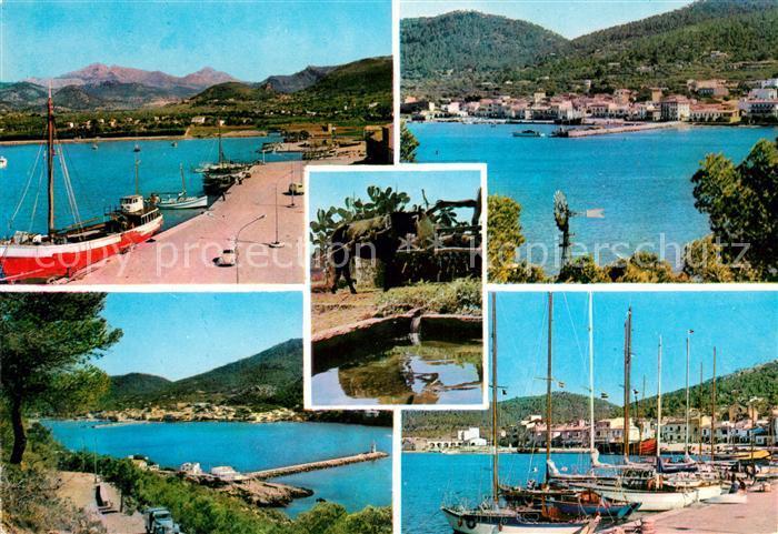 AK / Ansichtskarte Puerto de Andraitx Hafen