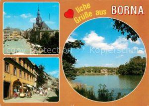 AK / Ansichtskarte Borna Leipzig  Kat. Borna