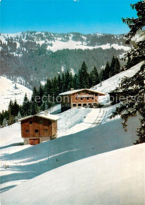 AK / Ansichtskarte Balderschwang Berggasthof Bodenseehuette Kat. Balderschwang