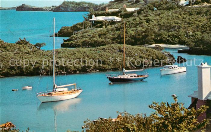 AK / Ansichtskarte Bermuda Boats at the coast Kat. Bermuda
