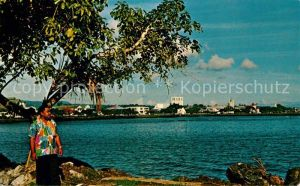 AK / Ansichtskarte Apia Panorama Harbor and waterfront Kat. Apia