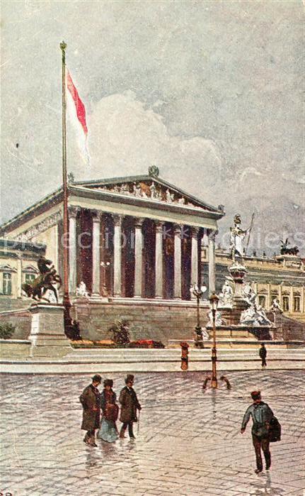 AK / Ansichtskarte Wien Parlament Kat. Wien