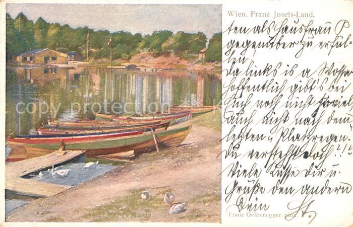 AK / Ansichtskarte Wien Franz Josefs Land Kat. Wien