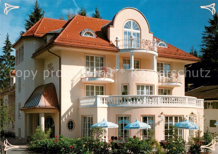 AK / Ansichtskarte Bad Faulenbach Kurhotel Ruchti am Fischhausweg Kat. Fuessen