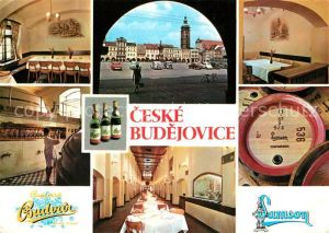 AK / Ansichtskarte Ceske Budejovice  Kat. Budweis Ceske Budejovice