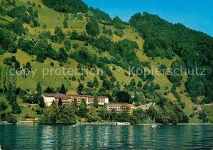 AK / Ansichtskarte Gersau Vierwaldstaettersee Hotel Rotschuo Kat. Gersau