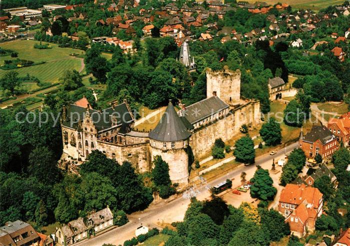 AK / Ansichtskarte Bad Bentheim Fliegeraufnahme Schloss Bentheim Kat. Bad Bentheim