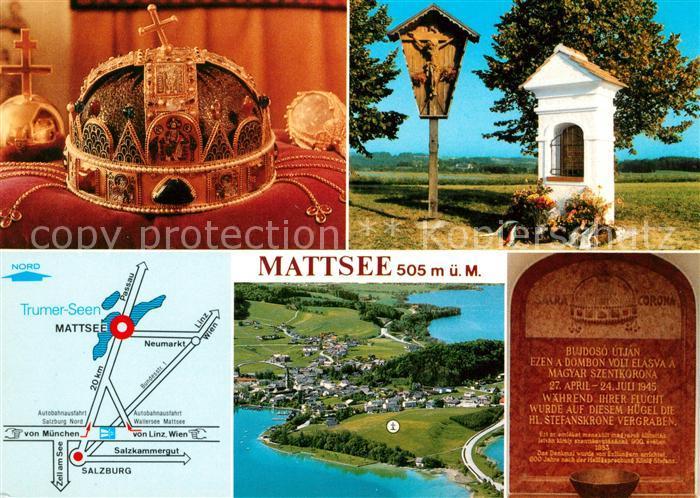 AK / Ansichtskarte Mattsee Salzburg Ungarndenkmal Kat. Mattsee