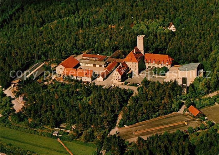 AK / Ansichtskarte Ebermannstadt Burg Feuerstein Jugendhaus Fliegeraufnahme Kat. Ebermannstadt