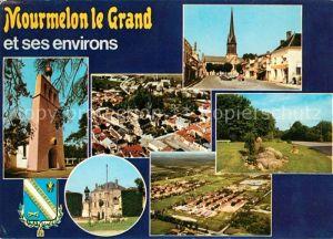 AK / Ansichtskarte Mourmelon le Grand et ses environs Baconnes Eglise Cimetiere russe Kat. Mourmelon le Grand