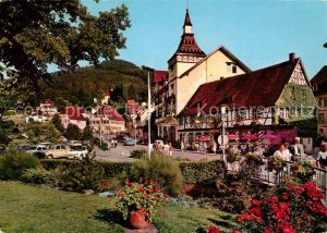 AK / Ansichtskarte Bad Herrenalb Ortsmotiv Kurort im Schwarzwald Kat. Bad Herrenalb