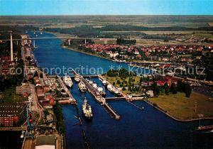 AK / Ansichtskarte Holtenau Kiel Schleuse Hochbruecken Kat. Kiel