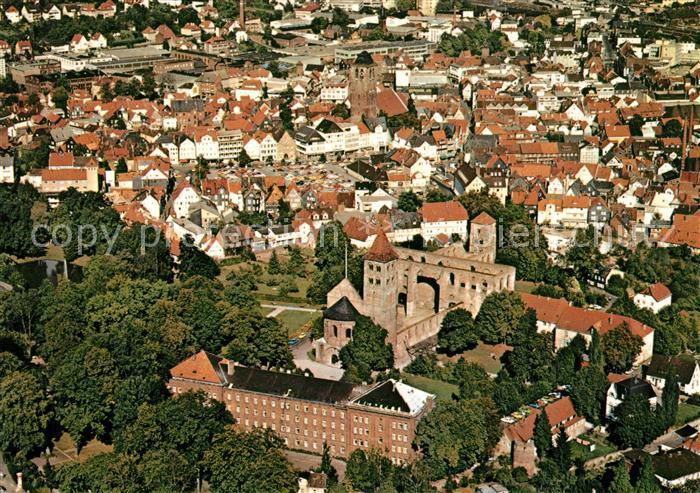 AK / Ansichtskarte Bad Hersfeld Fliegeraufnahme Kat. Bad Hersfeld