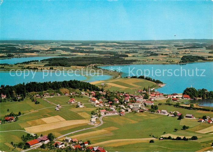 AK / Ansichtskarte Mattsee Salzburg Fliegeraufnahme Kat. Mattsee