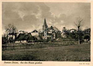AK / Ansichtskarte Lesum Blick aus den Wiesen Kat. Bremen