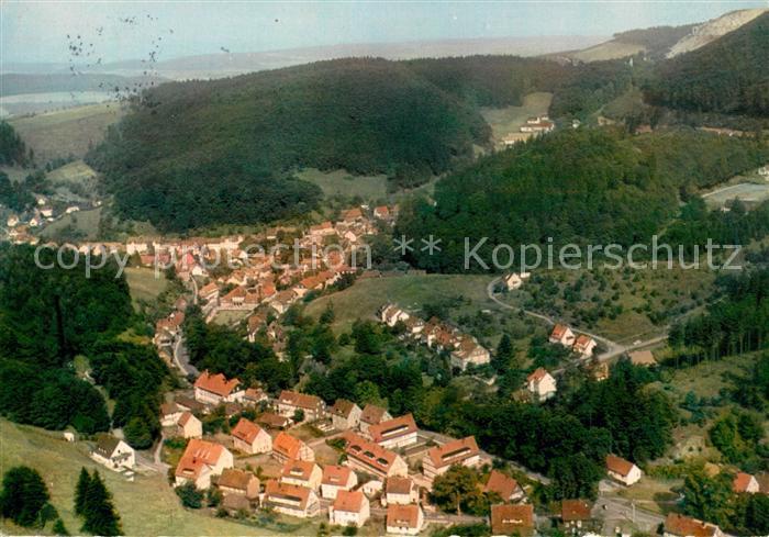 AK / Ansichtskarte Bad Grund Blick vom Schoenhofsblick Kat. Bad Grund (Harz)