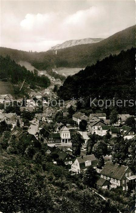 AK / Ansichtskarte Bad Grund Panorama Blick auf das Kurbad Kat. Bad Grund (Harz)