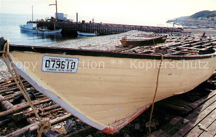 AK / Ansichtskarte Kanada Neufundland Fischerboot Kat. Kanada