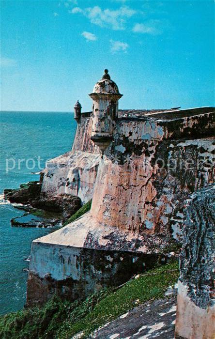 AK / Ansichtskarte San Juan Puerto Rico El Morro Castle Kat. San Juan
