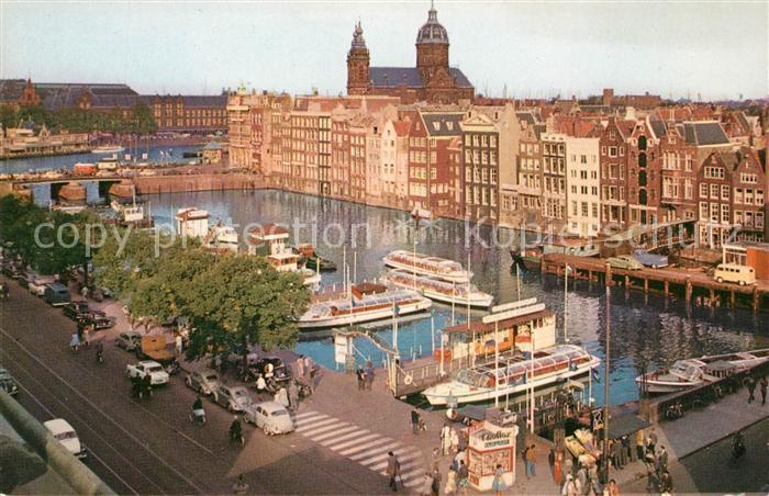 AK / Ansichtskarte Amsterdam Niederlande Reederij Plas Kat. Amsterdam