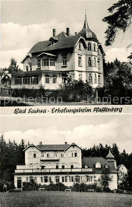 AK / Ansichtskarte Bad Sachsa Harz Erholungsheim Pfaffenberg Kat. Bad Sachsa