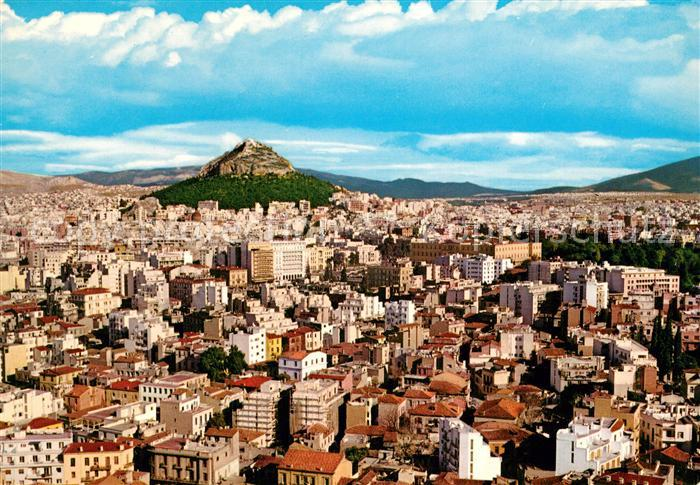 AK / Ansichtskarte Athenes Athen Lykabette Kat. Griechenland
