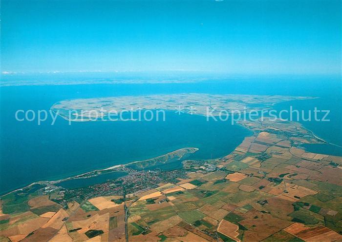 Heiligenhafen Ostseebad Grossenbrode Fehmarn Ostseeinsel Fliegeraufnahme Kat. Heiligenhafen