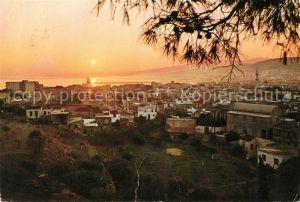 Rethymnon Kreta Coucher du soleil Sonnenuntergang