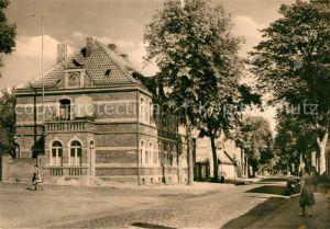 AK / Ansichtskarte Dargun Mecklenburg Vorpommern Postamt Schlossstrasse Kat. Dargun