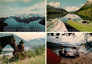 AK / Ansichtskarte Williams Lake Chilko Lake Wilderness Ranch Kat. Williams Lake