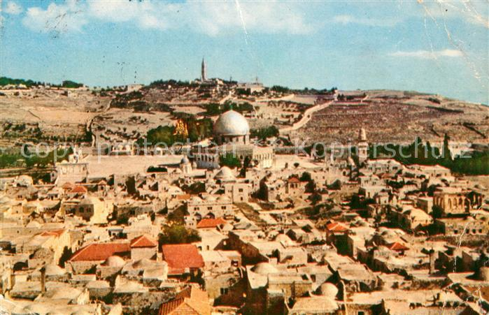 Jerusalem Yerushalayim Panorama Kat. Israel