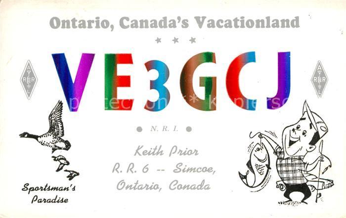 Ontario Canada Vacationland  Kat. Kanada