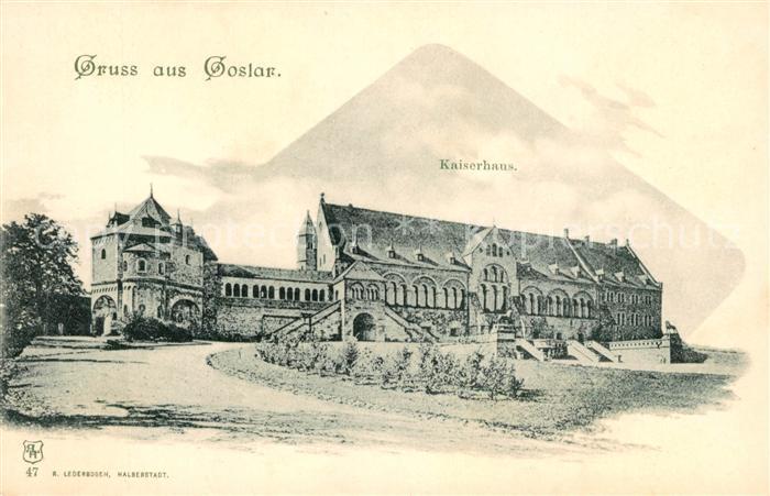 Goslar Kaiserhaus Kat. Goslar