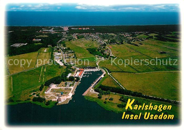AK / Ansichtskarte Karlshagen Insel Usedom Fliegeraufnahme Kat. Karlshagen Usedom 0