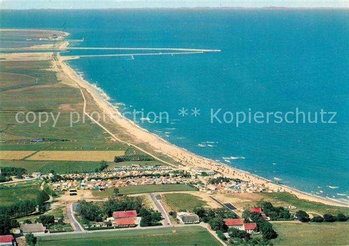 AK / Ansichtskarte Schoenhagen Brodersby Fliegeraufnahme Campingplatz Kat. Brodersby Schlei
